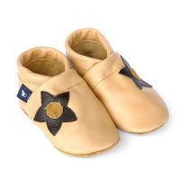 Baby Lederschuhe Blume
