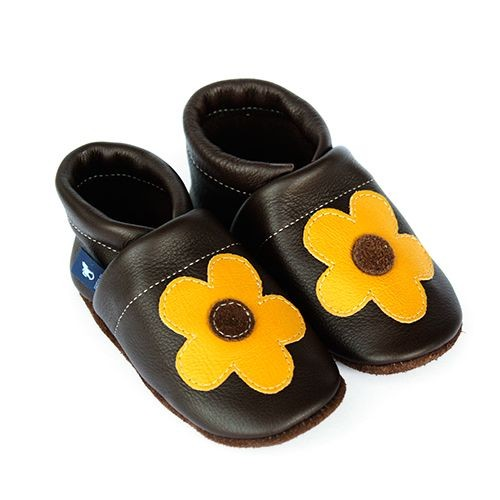 Krabbelschuhe & Lederpuschen Blume
