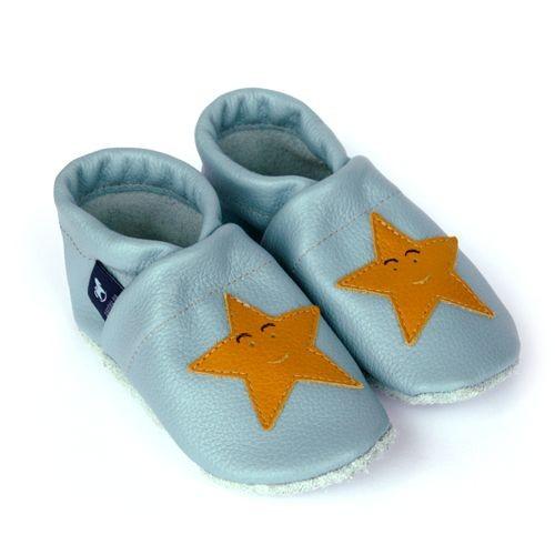 Krabbelschuhe & Lederpuschen Sterne