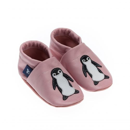 Krabbelschuhe & Lederpuschen Pinguin